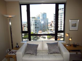 Victoria property rental photo - 10th Floor Views from Light and Bright Living Room