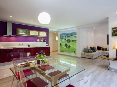 Sintra villa rental - APARTMENT - Dinning Room and Kitchen