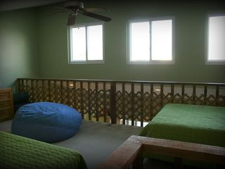 Indian Shores condo photo - Loft sleeping area with 32' TV