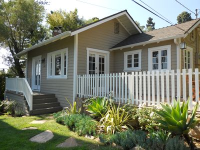 Santa Barbara house rental - Lower Riviera Bungalow
