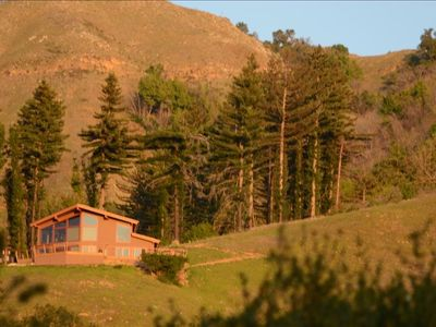 Vacation home in Big Sur. Ten acres looking over Ventana and Post Ranch Inns.