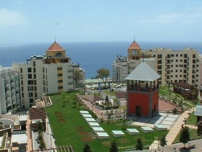 Funchal apartment rental - View of sea and gardens