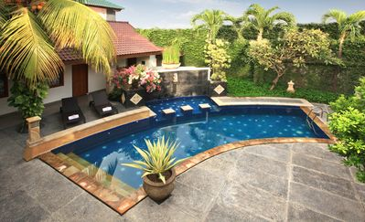 Bird Eye view to the Swimming Pool