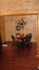 Hayesville cabin photo - Dine in cozy comfort