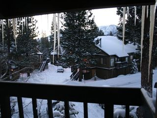 Mammoth Lakes condo photo - View from the Balcony of the Sherwin Mountains