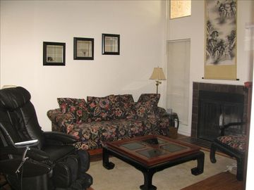 Living Room w/Surround Sound and Panasonic Shiatsu Chair