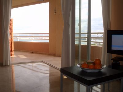 Sunny, airy apartment, right on the Paseo Maritimo, near Sta.Catalina  - 2 Zimmer Wohnung
