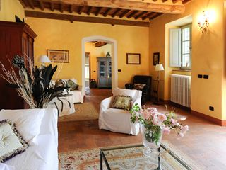Lucca villa photo - The Cozy Living Room