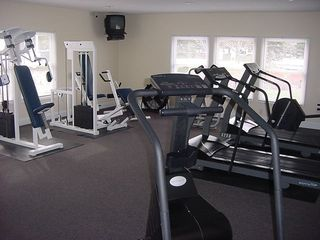 Manistee condo photo - Workout Room in indoor pool building