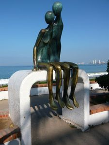 another of the many sculptures along the Malecon (boardwalk)