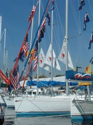 Sailboat & Powerboat Show, Oct'13. Ahoy mates...don't miss this annual event!