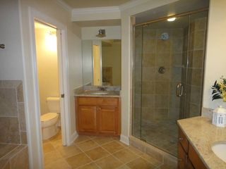 Rivendell Ocean City condo photo - Master bath with double sink and double shower stall!
