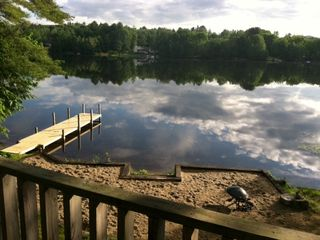 Barnstead house photo - gorgeous morning - snapped this photo while enjoying a cup of coffee on the deck