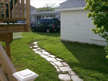Backyard and Parking