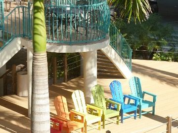 Cafe and Seating Area for your Tropical Vacation.