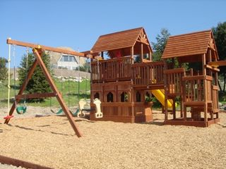 Sonoma house photo - 2 Story Play structure w/ tire swing and slide