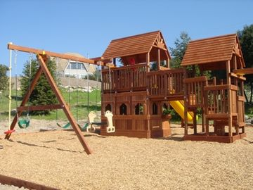 Amazing views in sonoma homeaway sonoma for Tire play structure