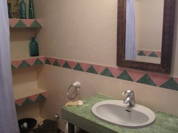 The separate Guest Bathroom