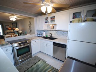 New Smyrna Beach condo photo - Kitchen with stainless steel appliances