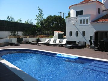 Carvoeiro villa rental - Wonderful decking/pool area