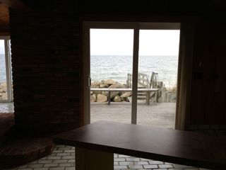 Yarmouth cottage photo - Another Dining area with a gorgeos views