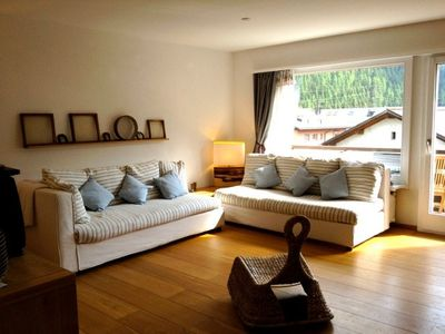 Comfortable apartment tastefully decorated with views of the valley - Engadine / Celerina