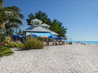 Sandbar Restaurant--1/2 mile from house on the beach