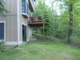 Tannersville house photo - Patio accessible from family room