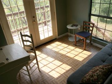 Second floor Sunroom Study