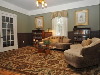 Lenox house photo - Cozy library is completely private for quiet activities