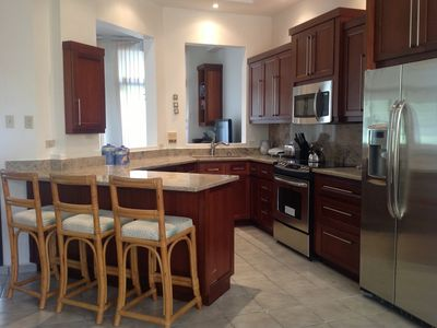 Newly renovated kitchen with all the amenities for preparing gourmet meals.