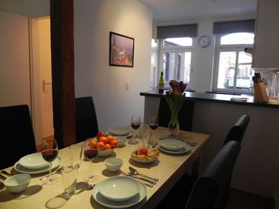 4-Zi.-Apartment 'Mundsburg II', modern apartment for up to 10 persons, WLAN