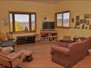 Steamboat Springs house photo - Lower Living Room with large HDTV