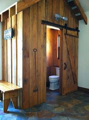 Georgetown Lake house photo - The inside Outhouse!
