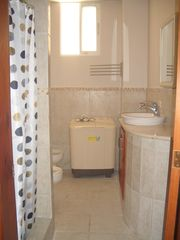 Punta Cana studio photo - Bathroom with shower stall. Washer/dryer combo. Hair dryer is also included.