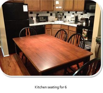 Kitchen seating for 6