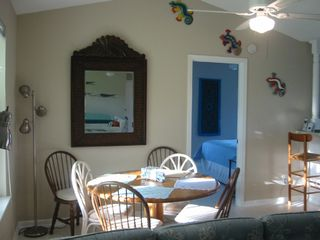 St. Augustine Beach house photo - Dining Room seats 6