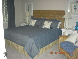 Gateway Grand Ocean City condo photo - Master bedroom with king size bed.