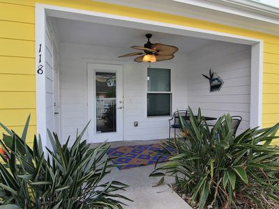 Fabulous 2/2 loft condo boasts a tropical lagoon style community pool!