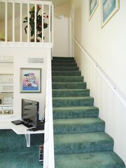 Lindfields townhome photo - Stairs to galleried landing