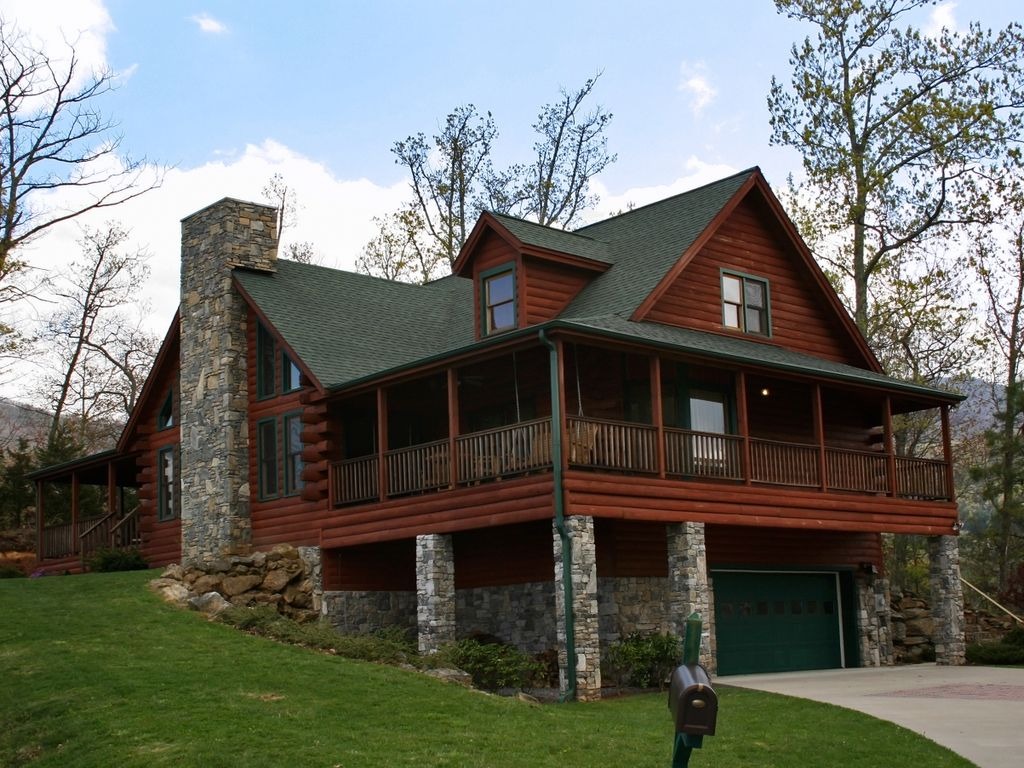 Waynesville vacation rental vrbo 487677 4 br smoky Smoky mountain nc cabin rentals