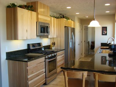 Tygh Valley house rental - Well equipped large modern kitchen