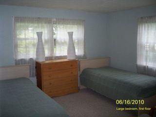 Falmouth cottage photo - Large bedroom, first floor