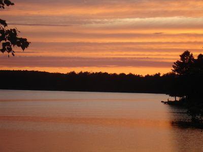 You can never get enough of the sunsets at the East Lake Retreat!