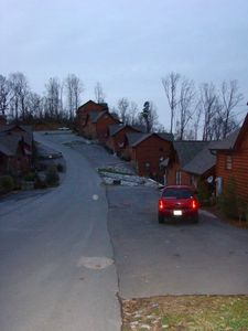 Pigeon Forge cabin rental - Street View of our Hilltop Retreat