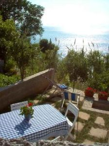 Big apartment with garden, amazing sea view