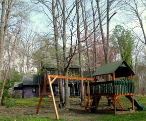 Charlottesville lodge photo - Play ground in back yard
