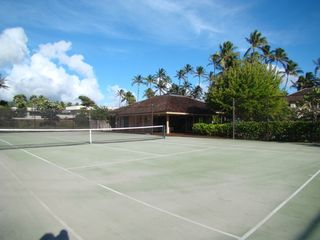 Kahala estate photo - Private Tennis Court