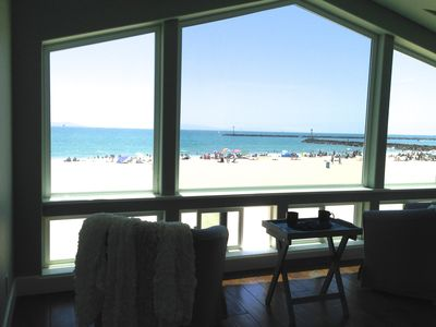 Sparkling 3 Story 5 Bedroom 3.5 Bath Beachfront Home On The Sand, Views!