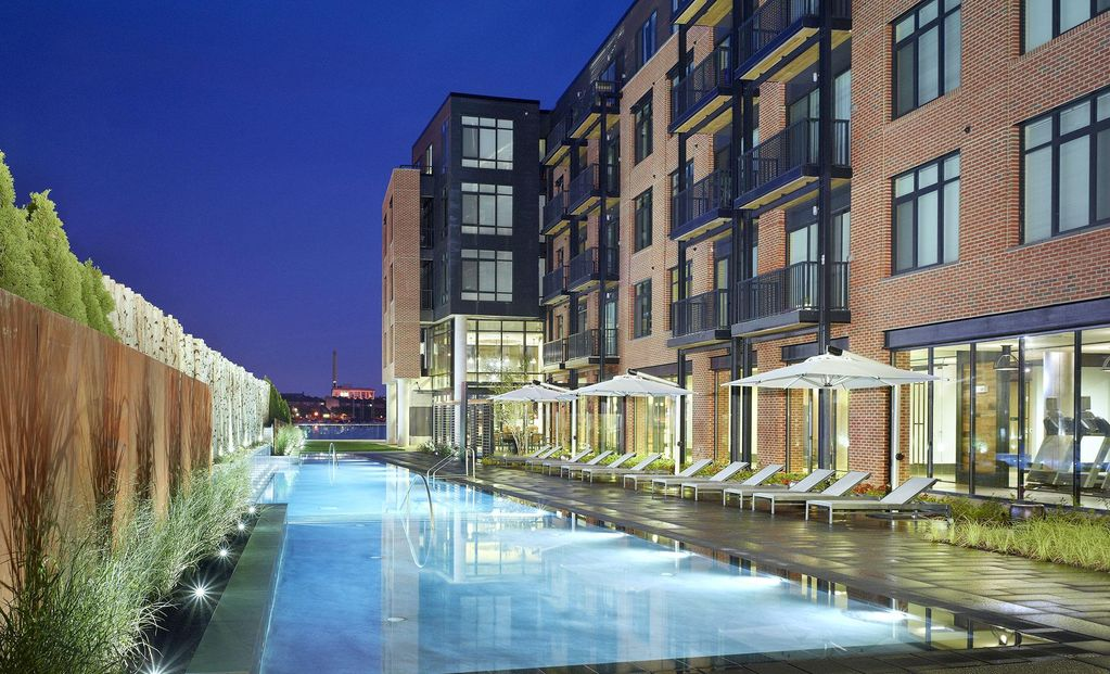 Baltimore waterfront 1br luxury apartment vrbo Cheap 1 bedroom apartments in maryland